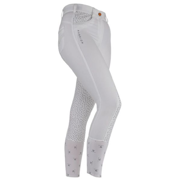 Shires Aubrion Dixie Breeches - White